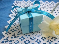 Blue Custom Ribbon
