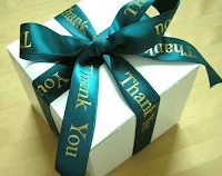Green Custom Ribbon Thank You